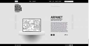L'artefact ARPAnet © The Big Internet Museum