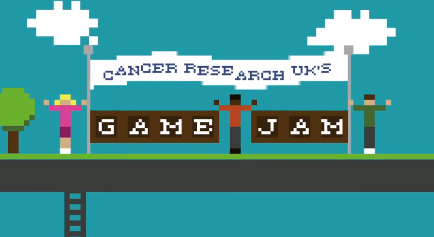 Copie d'écran du jeu Cancer Research Jam