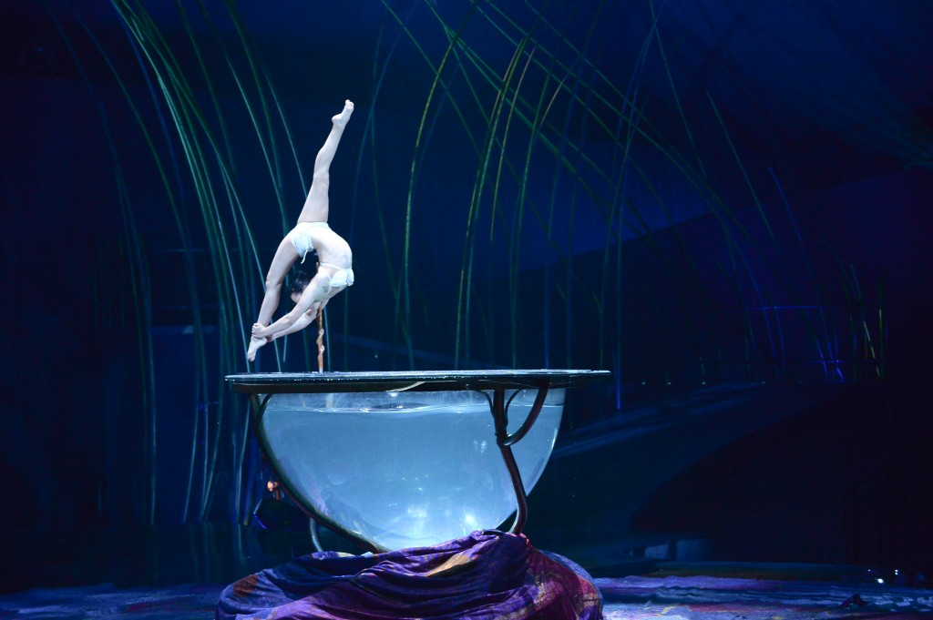 Water Bowl - © Photo : Laurence Labat - Cosume : Mérédith Caron / Cirque du Soleil