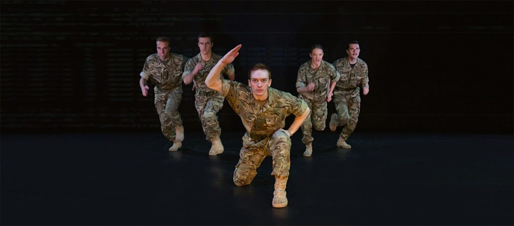 Rosie Kay Dance Company performs 5 SOLDIERS (live stream) Image: Brian Slater